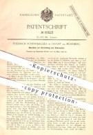 Original Patent - Fr. Scherrbacher , Feucht / Nürnberg , 1892 , Herstellung Von Rohrmatten , Rohr , Schilfrohr , Weber ! - Documents Historiques