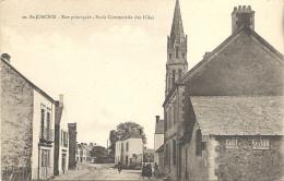 44  SAINT  JOACHIM   RUE  PRINCIPALE    ECOLE  COMMUNALE  DES  FILLES - Saint-Joachim