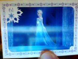 Carte Disney Frozen Numero 61 47 Topps La Reine Des Neiges - Disney