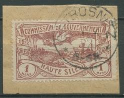 Oberschlesien OSTROSNITZ 26 Auf Briefstück (OS1048) - Germany