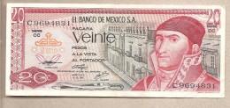 Messico - Banconota Circolata Da 20 Pesos - 1976 - Messico