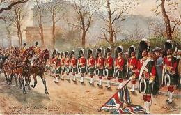 The Gordon Highlanders Constitution Hill UK - Tuck's Oilette Vintage Postcard - Non Classés