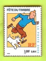 Pin's BD Tintin Milou Fête Du Timbre - 1F24 - Comics
