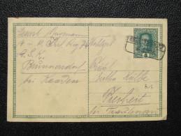 GANZSACHE Korrespondenzkarte Brunnersdorf B. Kaaden - Freiheit 1916 /// D*20412 - Briefe U. Dokumente