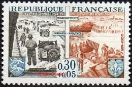 France Histoire N° 1409 ** XXème Anniversaire De La Libération -> Débarquement Des Alliés En Normandie Et Provence - 2. Weltkrieg