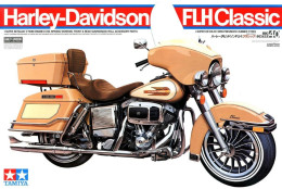 Harley-Davidson FLH Classic ( 1/6 Tamiya ) - Motorcycles