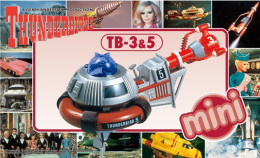 Thunderbirds : Mini TB-3 & 5 ( Aoshima ) - SF & Robots
