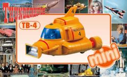 Thunderbirds : Mini TB-4 ( Aoshima ) - SF & Robots