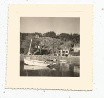 Photographie 8 X 8 , PONT AVEN , La Maison De BOTREL , 1952 , Bateau - Lieux