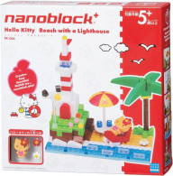 Hello Kitty : Nanoblock Diorama : Beach With A Lighthouse ( Kawada ) - Diorama