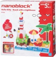 Hello Kitty : Nanoblock Diorama : Beach With A Lighthouse ( Kawada ) - Scenery, Diorama