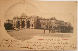 UKRAINA - ODESSA - BAHNHOF - 1901 - DAR - Ucrania