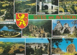 Sites En Aveyron Bez-Bedene, Montpellier Le Vieux, Montrozier, Pont De Palmas, Conques, Decazeville, Roquelaure, Bozouls - Francia