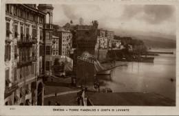 Savona, Torre Pancaldo E Costa Levante - Anni Trenta- - Savona