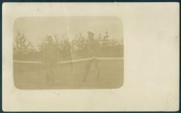 Russia Military Tennis Players Photocard 1916 WW1 - Russland