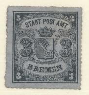 BREMEN - 1866 - Mi 11 - COAT OF ARMS - Bremen