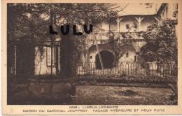 DEPT 70 ; Luxeuil Les Bains , La Maison Du Cardinal Jouffroy , Facade Interieure Et Vieux Puits - Luxeuil Les Bains