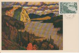Carte-Maximum CANADA N°Yvert 387 / Tableau De J. E. H. MacDonald - Maximumkaarten
