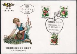 "Austria 1966, FDC Cover ""Fruits"" W./special Postmark ""Wien"", Ref.bbzg - FDC"