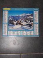 2007 CALENDRIER ( Double ) ALMANACH DU FACTEUR, LA POSTE, NOTRE DAME DE BELLECOMBE ( SAVOIE ), DOLOMITES, - ARDENNES 08 - Calendriers