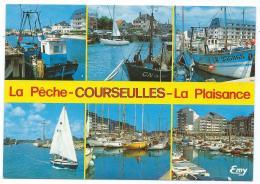 CP COURSEULLES SUR MER, LE PORT DE PECHE ET LES BASSINS DE PLAISANCE, CALVADOS 14 - Courseulles-sur-Mer