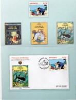 Monaco 2012.Encart Tintin - Zonder Classificatie