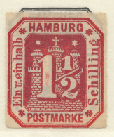 HAMBURG - 1866 - Mi 21 - COAT OF ARMS - Hamburg