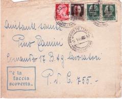 Lettera Da Rovereto A Posta Da Campo 755  Del3/1/1945     B527 - Marcophilia