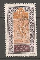 H-S Et NIGER -  Yv. N°23  (o)  15c  Obl NIORO  Cote  0,8 Euro BE