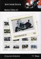 Map Motoren 20 Exclusieve Zegels - Autriche