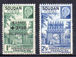 TGC/ Soudan N°  133 & 134  Neuf  XX  MNH , Cote :  2,00 € , Album 12 - Unused Stamps