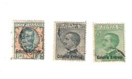 Eritrea 1925 S.20 Usata  Fra.780 - Eritrea