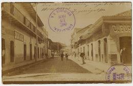 Real Photo Tegucigalpa Rue Du Commerce Used San Marcos De Colon Choluteca To Ore Haute Garonne France Via Puerto Cortez - Honduras
