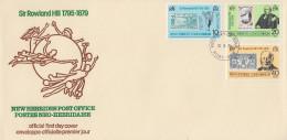 Enveloppe FDC  1er Jour   NOUVELLES  HEBRIDES  Sir  Rowland  HILL   1979 - Rowland Hill