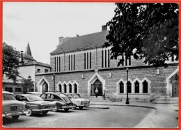 """CPSM 75016 PARIS - Nouvelle Eglise N. D. De Grâce - PASSY ° Collection Tabac """"Le Diplomate"""" * Auto Voiture Car - Distrito: 16"""