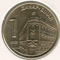 Serbie Serbia 1 Dinar 2003 UNC KM 34 - Serbie