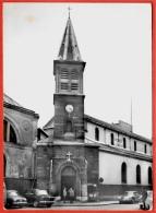 """CPSM 75016 PARIS - Ancienne Eglise N. D. De Grâce - PASSY ° Collection Tabac """"Le Diplomate"""" * Auto Voiture Car - Distrito: 16"""