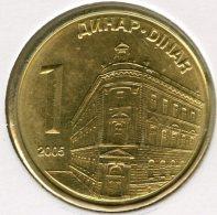 Serbie Serbia 1 Dinar 2006 UNC KM 39 - Serbie