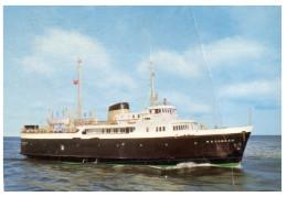 (448) Ship - Shipping - Boat - Canadian Ferry Matane (fold On Right) - Traghetti