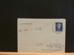 A6754  LUCHT BRIEF  1952 NAAR NEW YORK - Postwaardestukken
