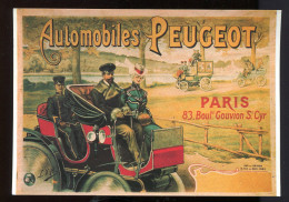 CP - Automobiles Peugeot - - Publicidad