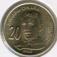Serbie Serbia 20 Dinara 2006 Nikola Tesla UNC KM 42 - Servië