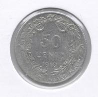 ALBERT I * 50 Cent 1910 Vlaams * Z.Fraai  * Nr 8904 - 06. 50 Céntimos