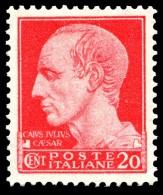 REGNO 1929 Serie Imperiale Effige Di V.E.III Cent. 20 C. MNH ** Integro - 1900-44 Vittorio Emanuele III