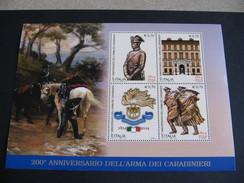 ITALIA 2014  200° ANNIVERSARIO ARMA CARABINIERI - BF INTEGRO - 1946-.. République
