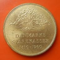 Medal To Identify - Danmarks Sparekasser 1810-1960 - Fichas Y Medallas