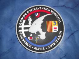 Ecusson Patch Gendarmerie Police Judiciaire Douane GIR PACA - Ecussons Tissu