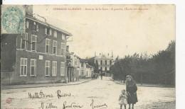 Sermaize Les Bains  Avenue De La Gare     Ecole De Garçons - Sermaize-les-Bains