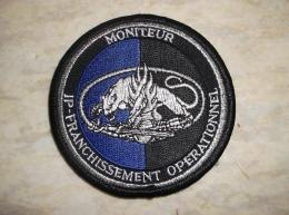 Ecusson Patch Gendarmerie Moniteur Intervention Professionnelle FranchissementGD - Ecussons Tissu