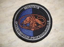 Ecusson Patch Gendarmerie Moniteur Intervention Professionnelle GD - Ecussons Tissu